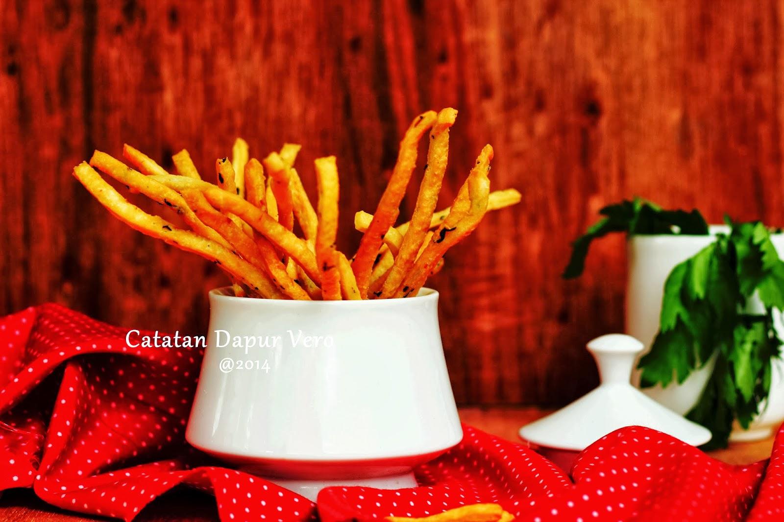 resep stik bawang rumput laut