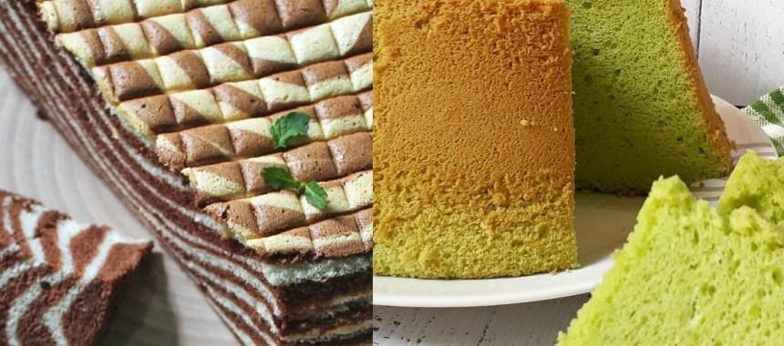 resep dasar chiffon cake sederhana
