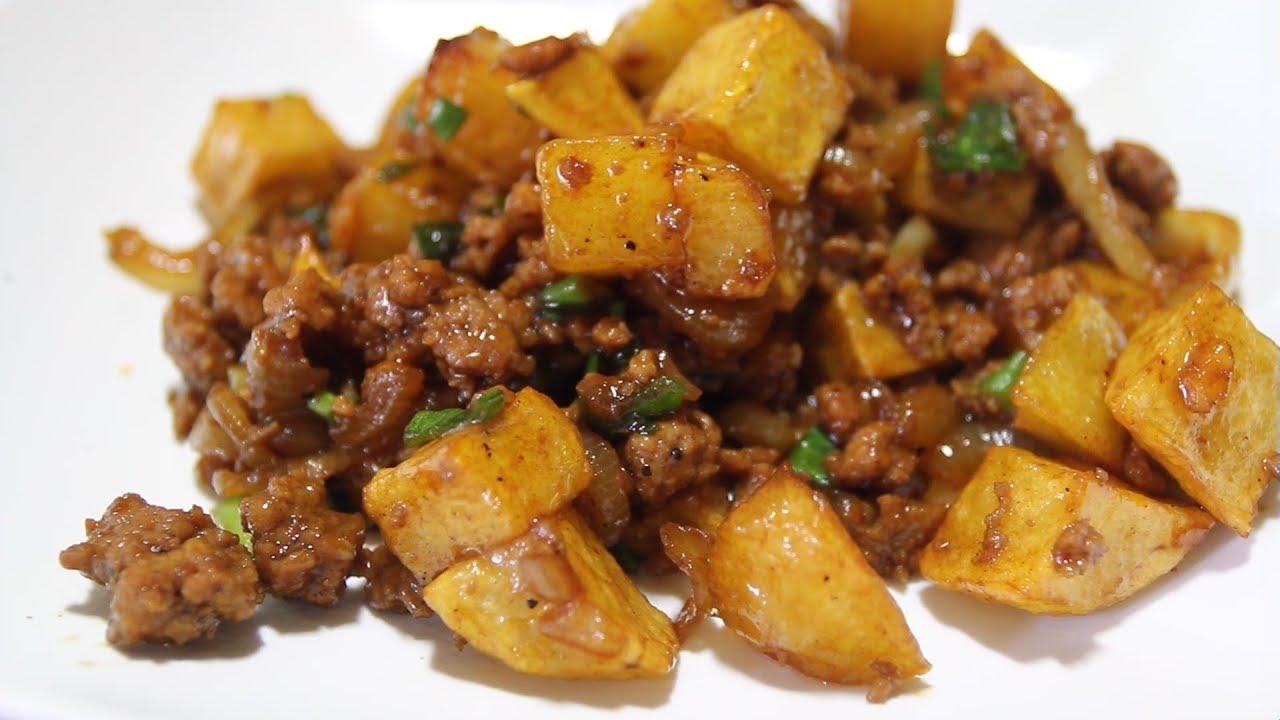 oseng kentang lombok ijo
