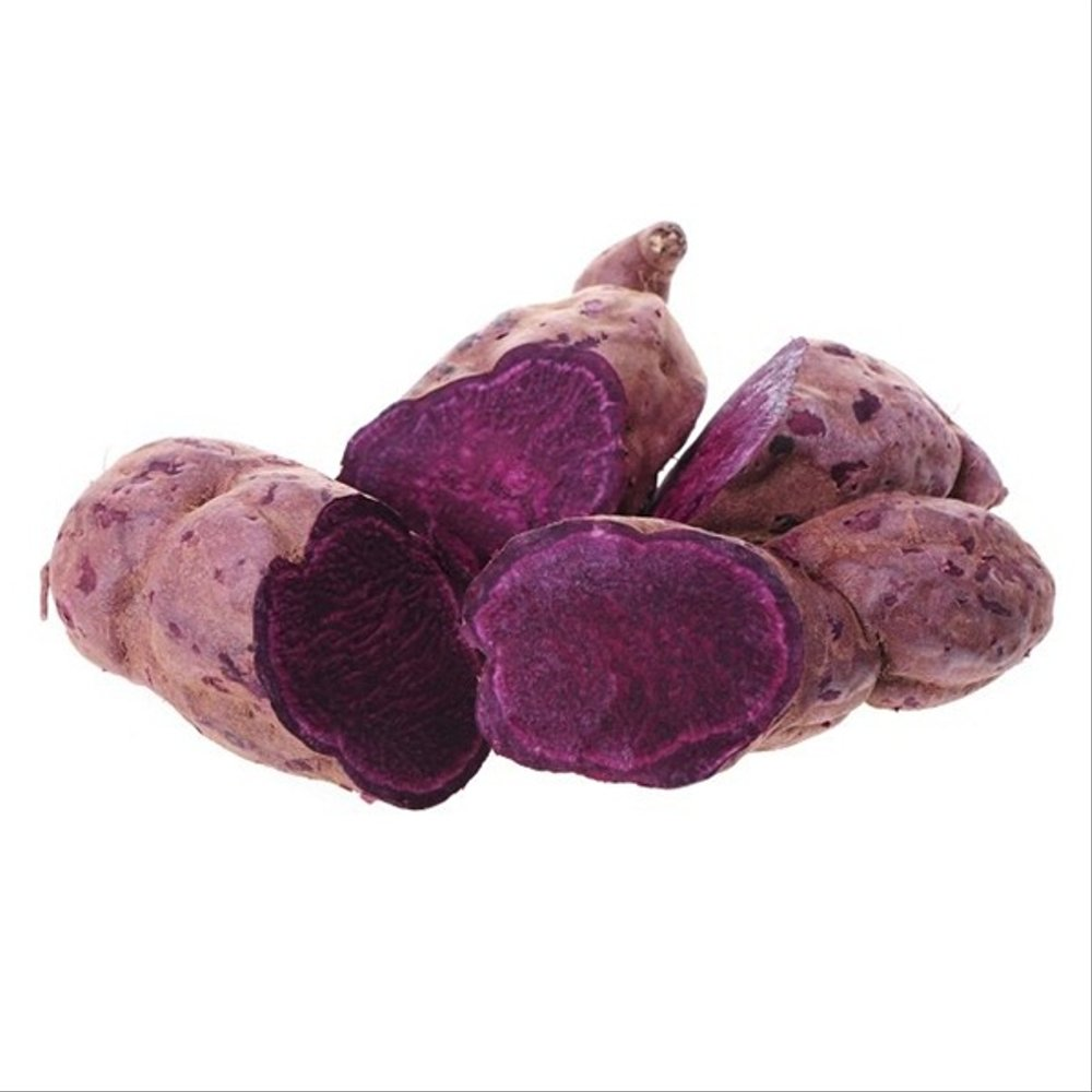 cara membuat donat ubi ungu